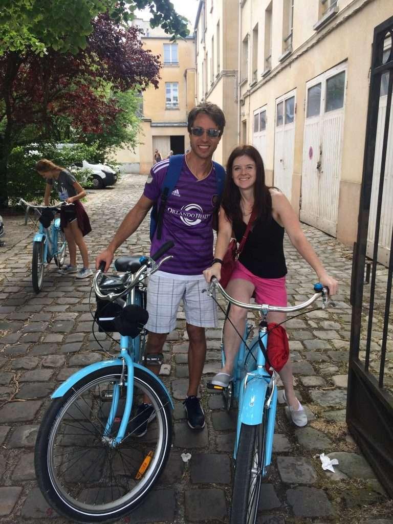 Versailles Blue Bike Tour
