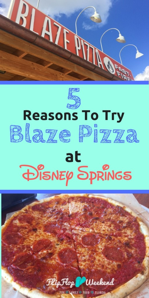 If you are looking into Disney Springs dining options, this restuarant review of Blaze Pizza explains why it makes a great choice for Disney World dining that doesn't break the bank