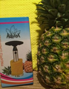 Adorox Stainless Steel Pineapple Fruit Core Slicer Cutter Kitchen Tool