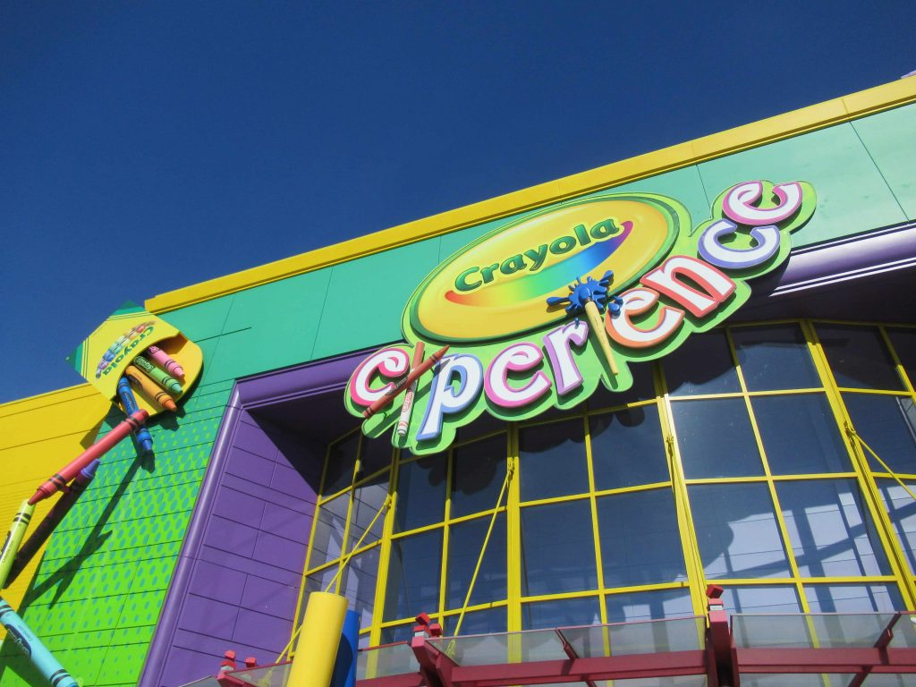 The Crayola Experience in Orlando is one of the many fun things to do with kids in Orlando
