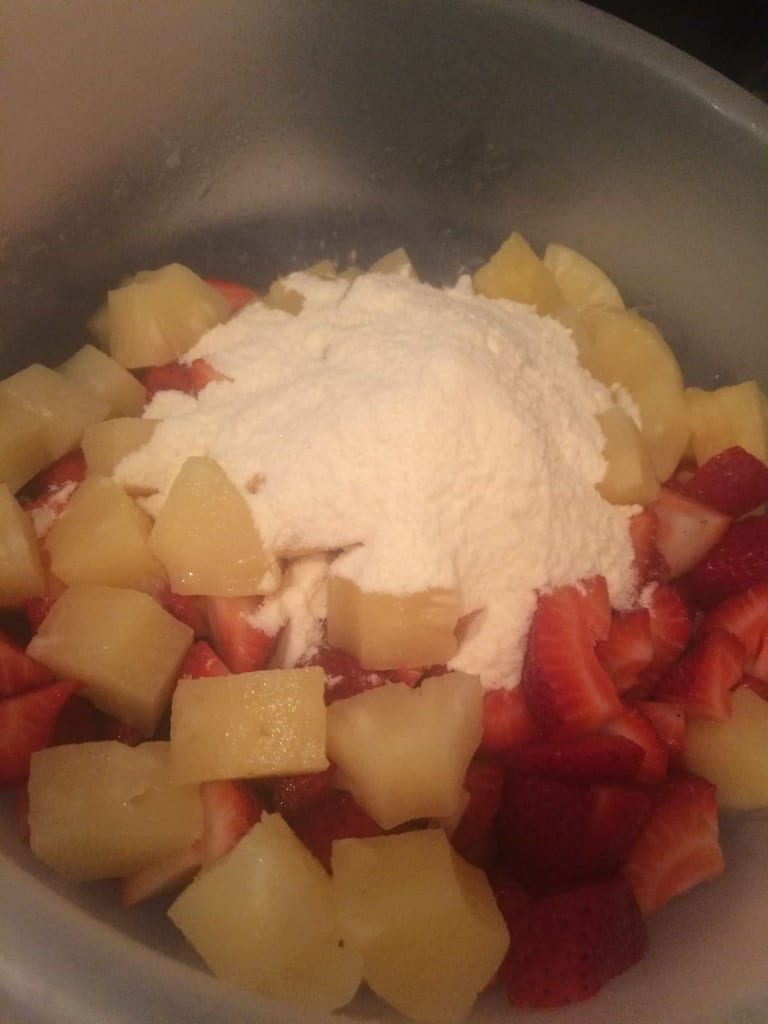 Pudding on Fruit