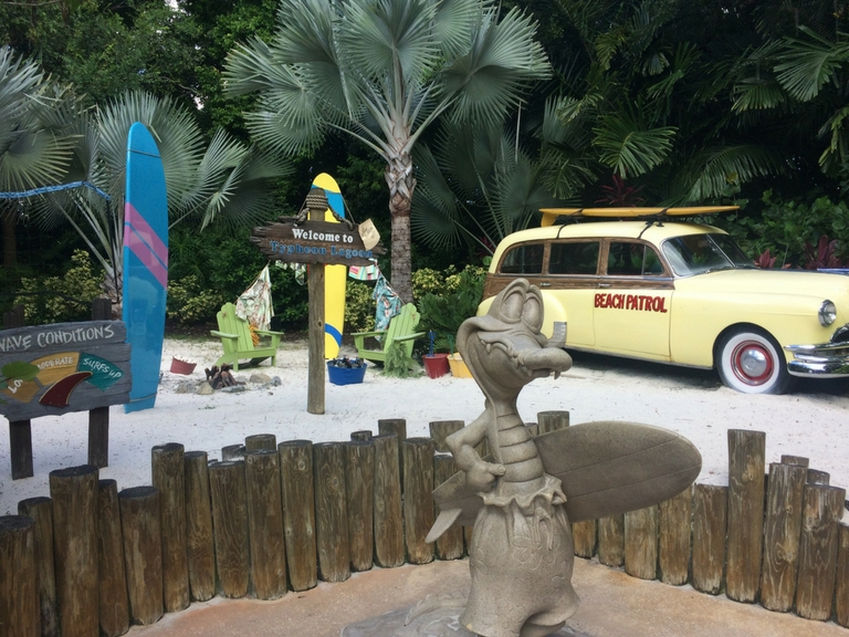 The Disney World Water Parks, Typhoon Lagoon and Blizzard Beach, are refreshing and fun spots to visit during the high heat times of summer. This post compares and contrasts these two water parks to help determine which one is right for you!.
