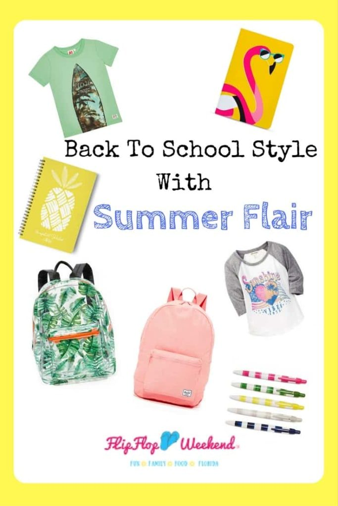 Your student will love going back to school with these easy, breezy supplies to remind them of summer fun! Plus, there is one supply you definitely don't want to forget!