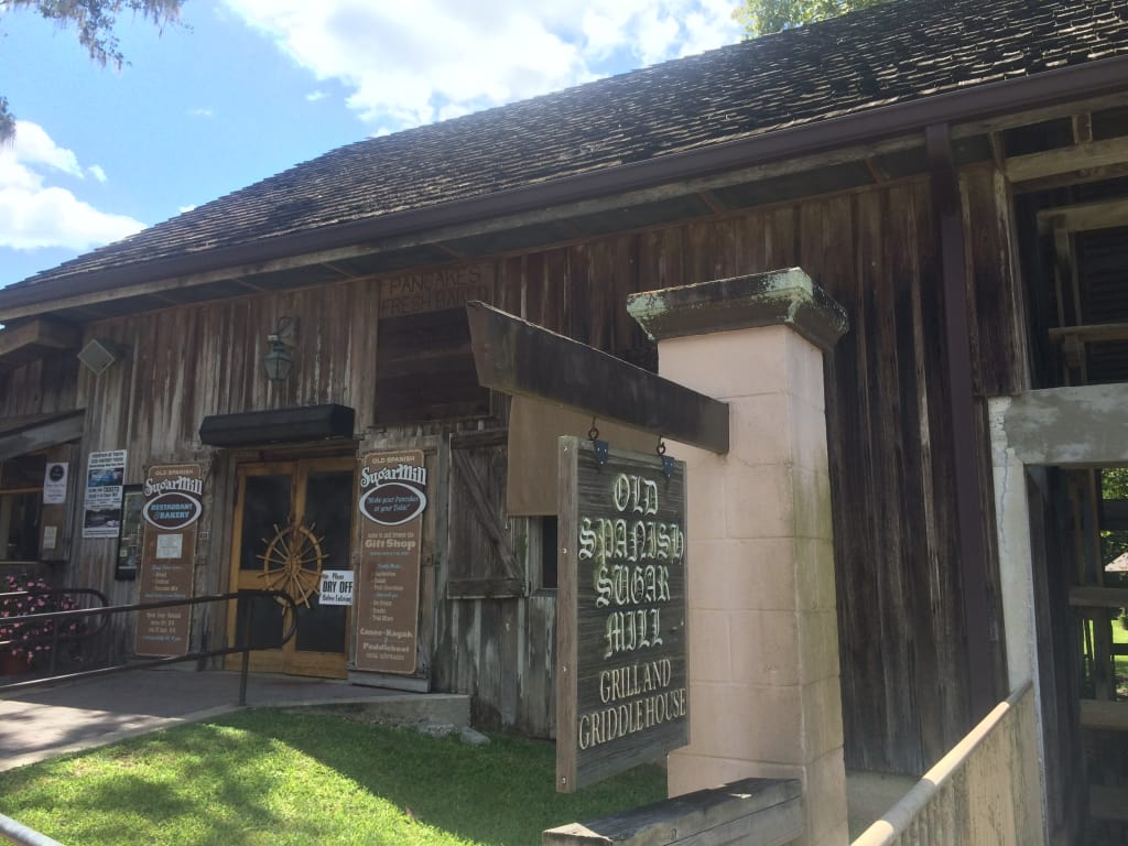 The Old Spanish Sugar Mill and Griddle House is a hidden gem in DeLeon Springs, FL