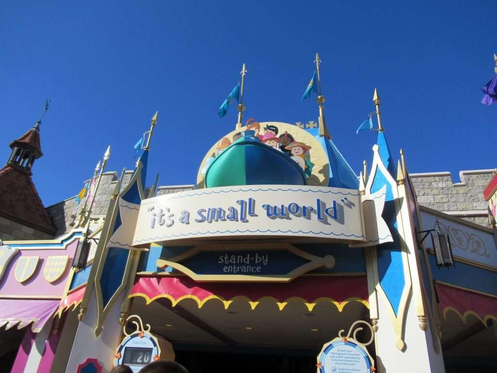 It's a Small World ride at Walt Disney World resort.