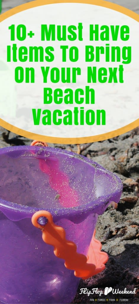 These must have items are essential to bring on your next beach vacation to make your day in the sand the best day ever!