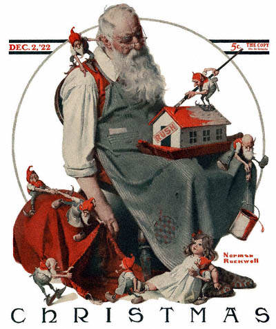 Celebration, Florida reminds me of Norman Rockwell at Christmas