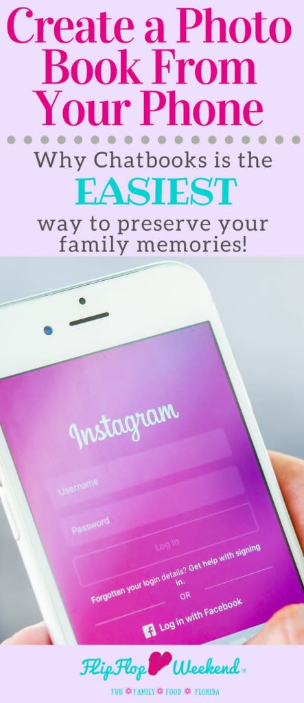 Create beautiful and affordable photo books directly from your Instagram with Chatbooks.