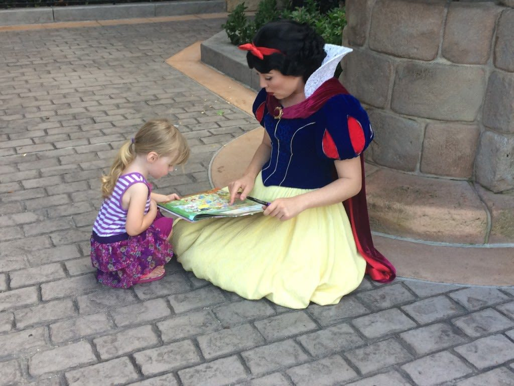 Turning a regular book into a Disney autograph book for Walt Disney World created some of our favorite Disney memories.