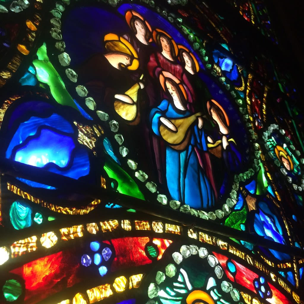 Stained Glass by Tiffany at the Morse Museum of American Art in Winter Park, FL