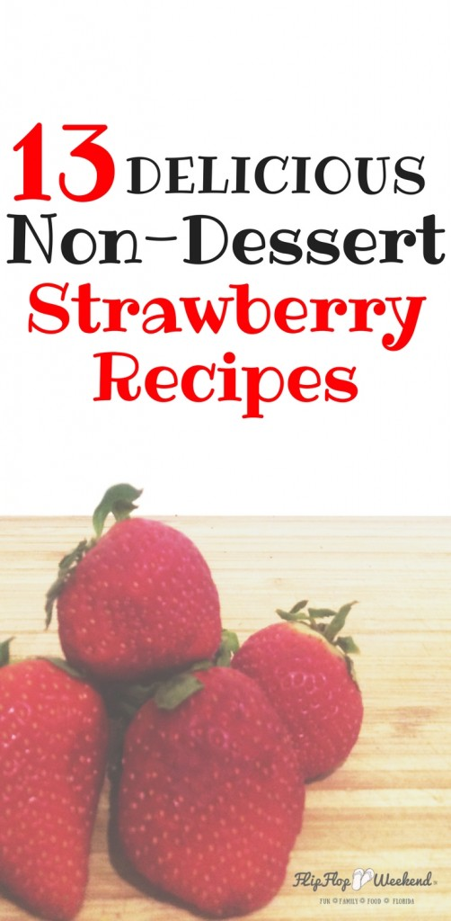 If you are looking to think beyond the Strawberry shortcake, This post features several strawberry recipes to help you utilize your fresh berries as salads, beverages, or part of the main course.