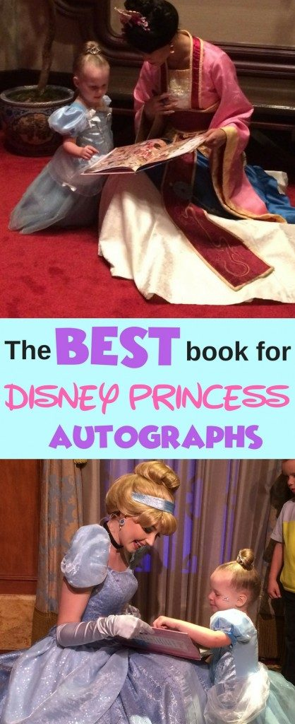 If your little girl ( or you) are exciting to meet your favorite Disney Princess in real life, this is the best book to collect the character autographs. Definitely check it our before your next Walt Disney World Vacation!