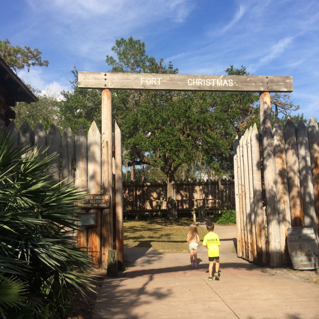 Fort Christmas is a fun place to spend a quiet afternoon soaking in Florida history. Best of all, it is completely free!