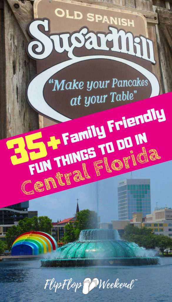 There are so many fun things to do in Central Florida for residents and those on their Florida family vacation. This post highlights 36 central florida activities you can check out with your family!