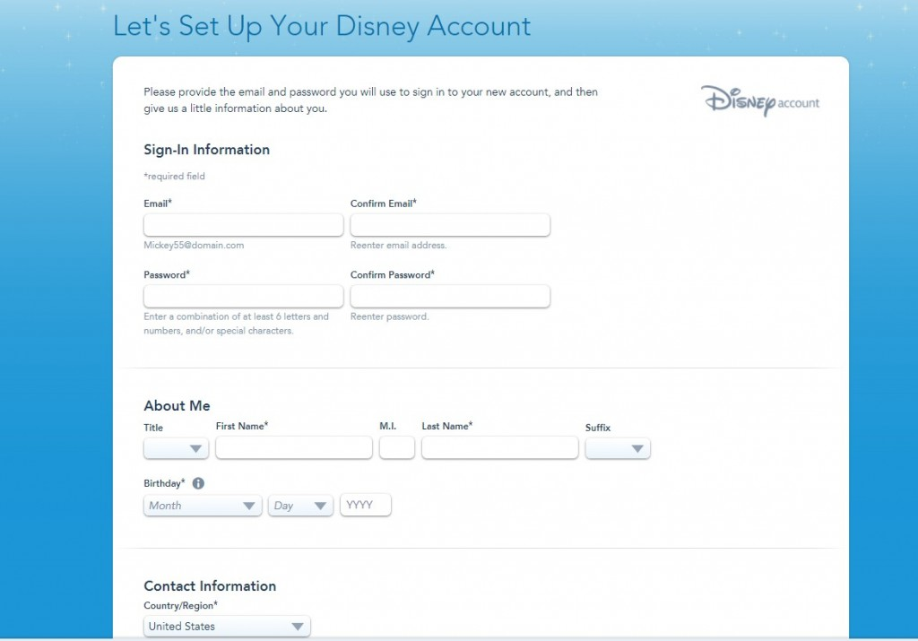 This post walks you through the steps of setting up your My Disney Experience account and navigating the My Disney Experience App