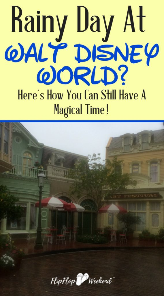 Walt Disney World Weather can be unpredictable, but it's still possible to have a magical time. Check out this post for how to best prepare for (and enjoy) a Disney day in the rain.
