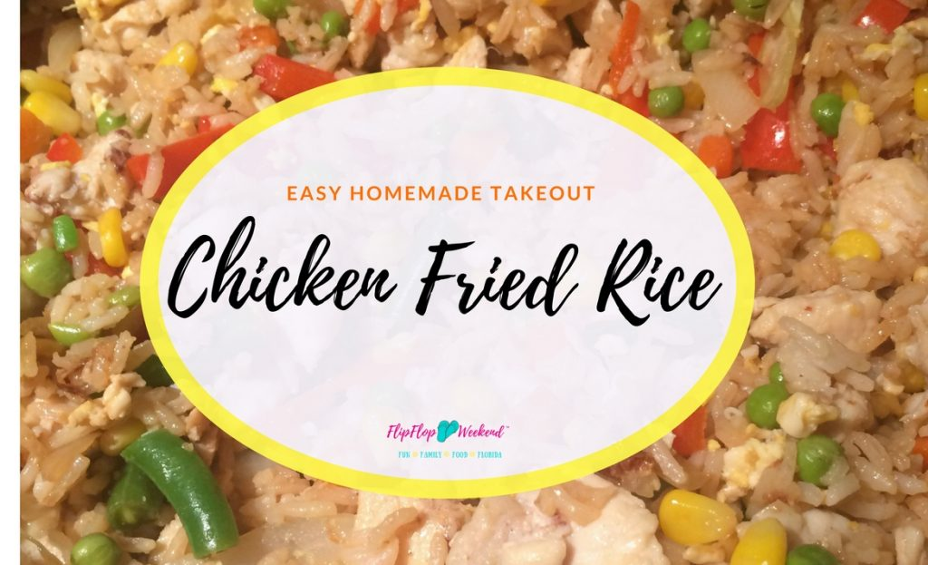 Homemade Takeout Chicken Fried Rice