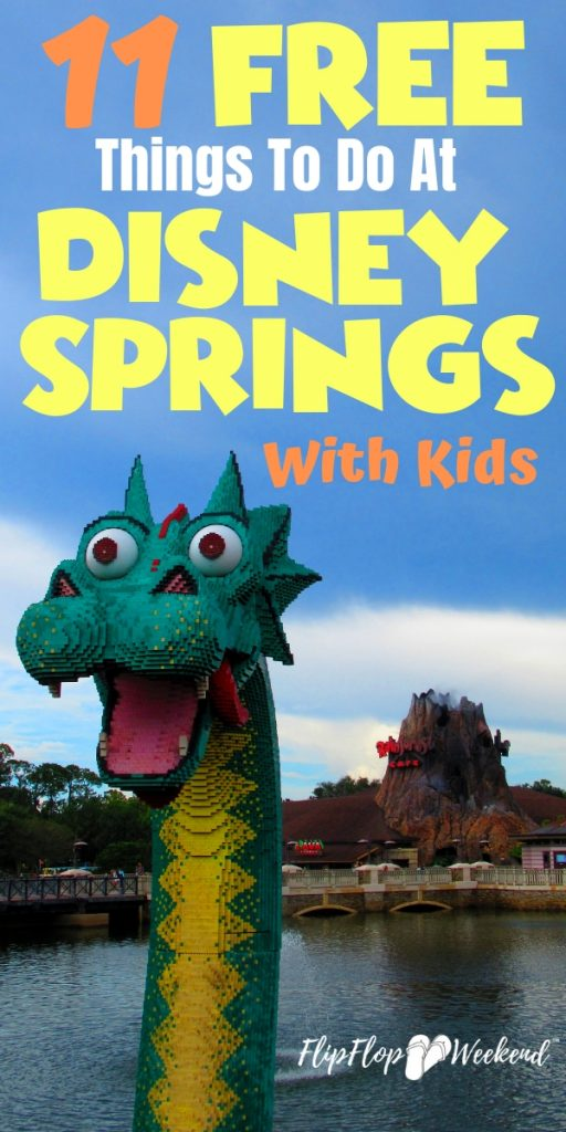 Disney Springs has amazing food, shopping and entertainment! Plus, it's completely free to park and enter. since it does not require a Walt Disney World park ticket. This post features some of my favorite free things to do at Disney Springs with kids!