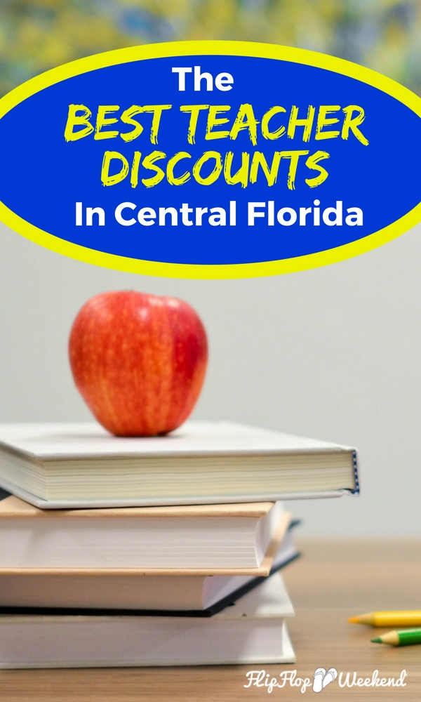 Many Orlando hotels and attractions, as well as other surrounding Central Florida activities, offer discounts and free tickets to Florida teachers and educators in appreciation for their service. This post highlights several educator discounts worth checking out. #TeacherDiscounts