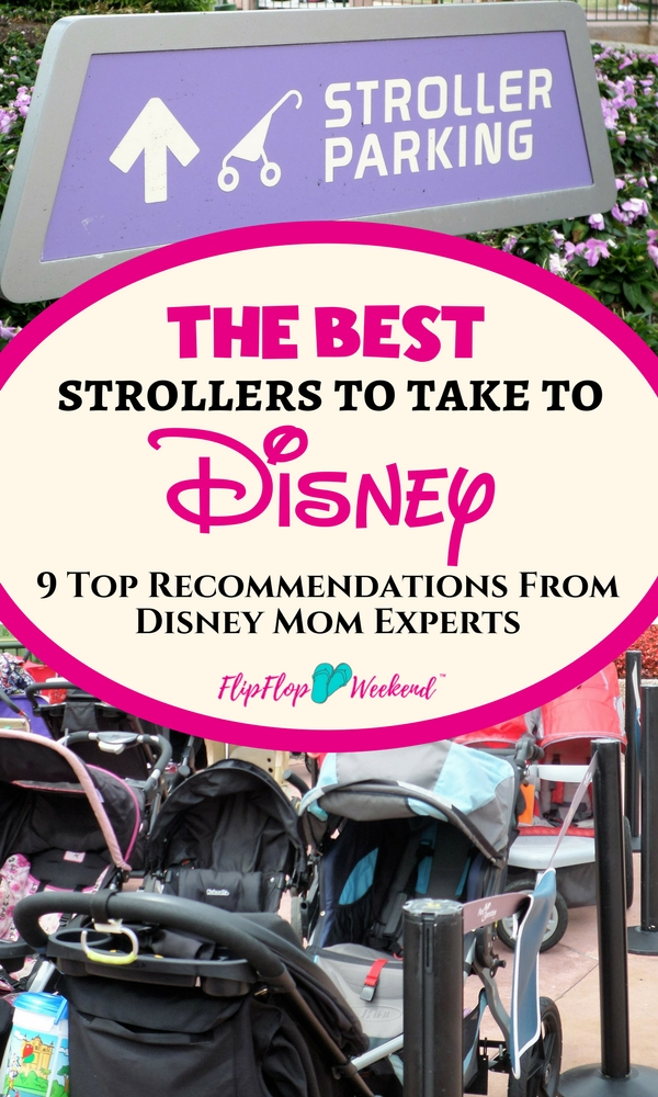 If you have small kids, a stroller is pretty much a #WDWVacation essential. But which stroller should you pick? This post features the best Disney-Mom recommended strollers for your Disney vacation. #WDW #Disney