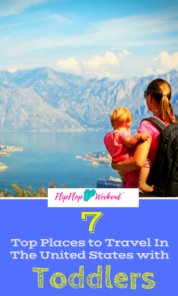Searching for the best Family Vacation Spots for Toddlers and young kids? AlltheRooms.com lists 7 family vacation destinations in the United States that will please family members of all ages!