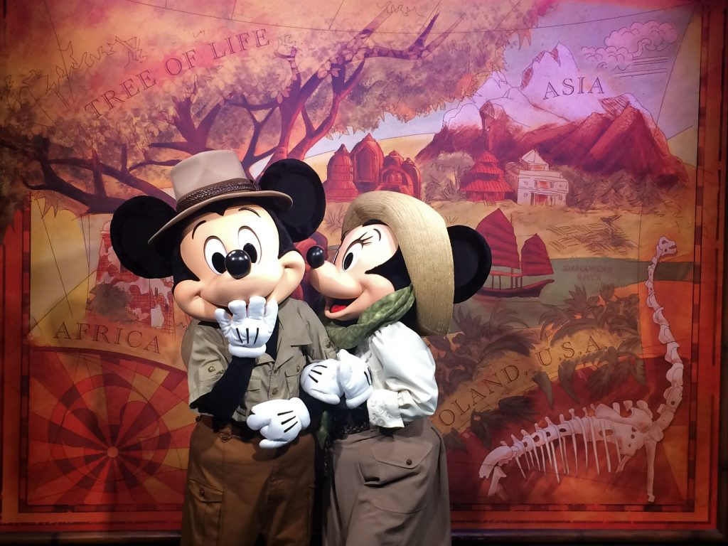 Meeting Mickey and Minnie top the list of every Walt Disney World Vacation, but there is only one place where you can get a photo with them together....Walt Disney World's Animal Kingdom