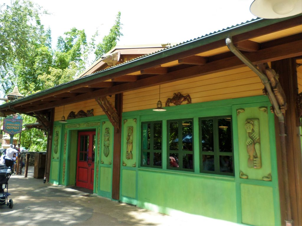 Adventurer's Outpost at Walt Disney World's Animal Kingdom