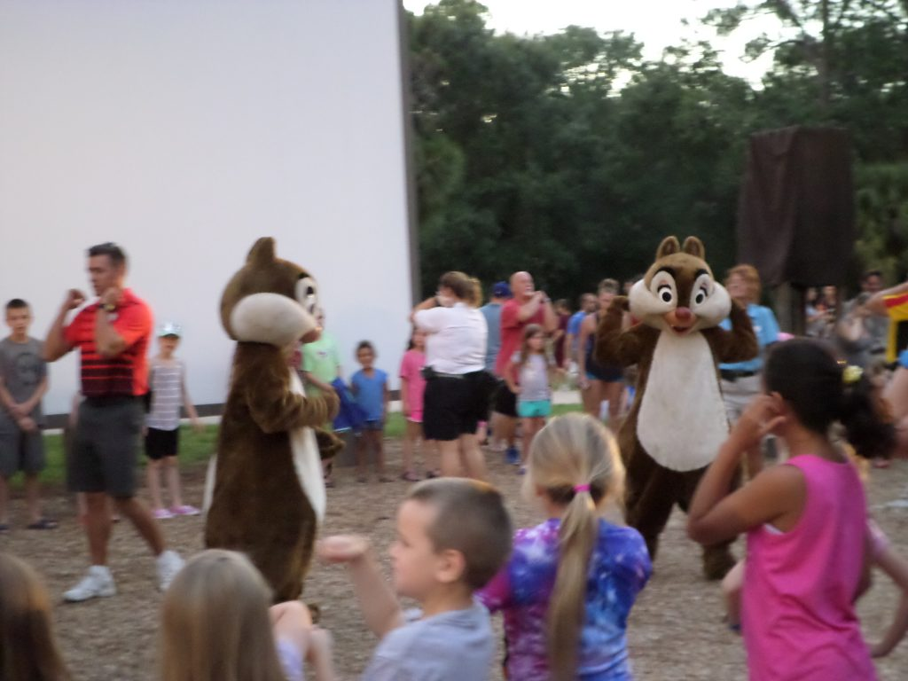 Enjoy a Free Disney Character Experience at Chip n' Dale's Campfire Sing-a-Long at Walt Disney World's Fort Wilderness Resort