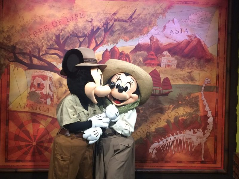 Where To Find Mickey and Minnie Together at Walt Disney World