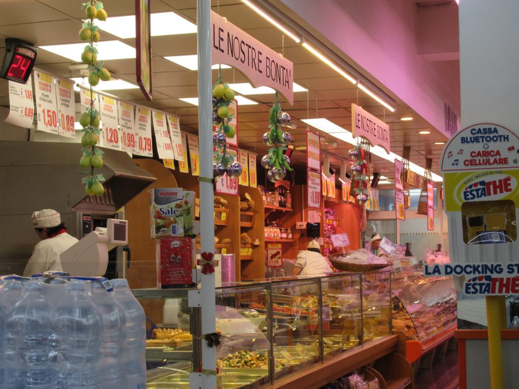 Shopping at a local supermarket while traveling is a great way to picnic for lunch, save a little money and get a taste for local life.