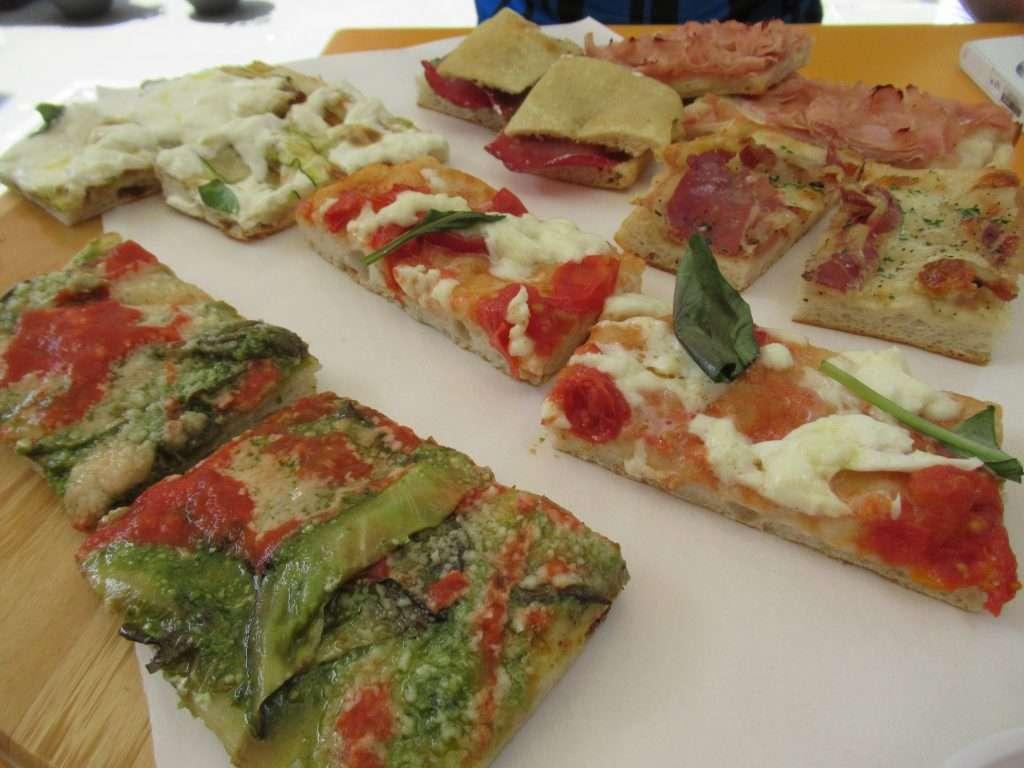 Pizza Zizza sampler