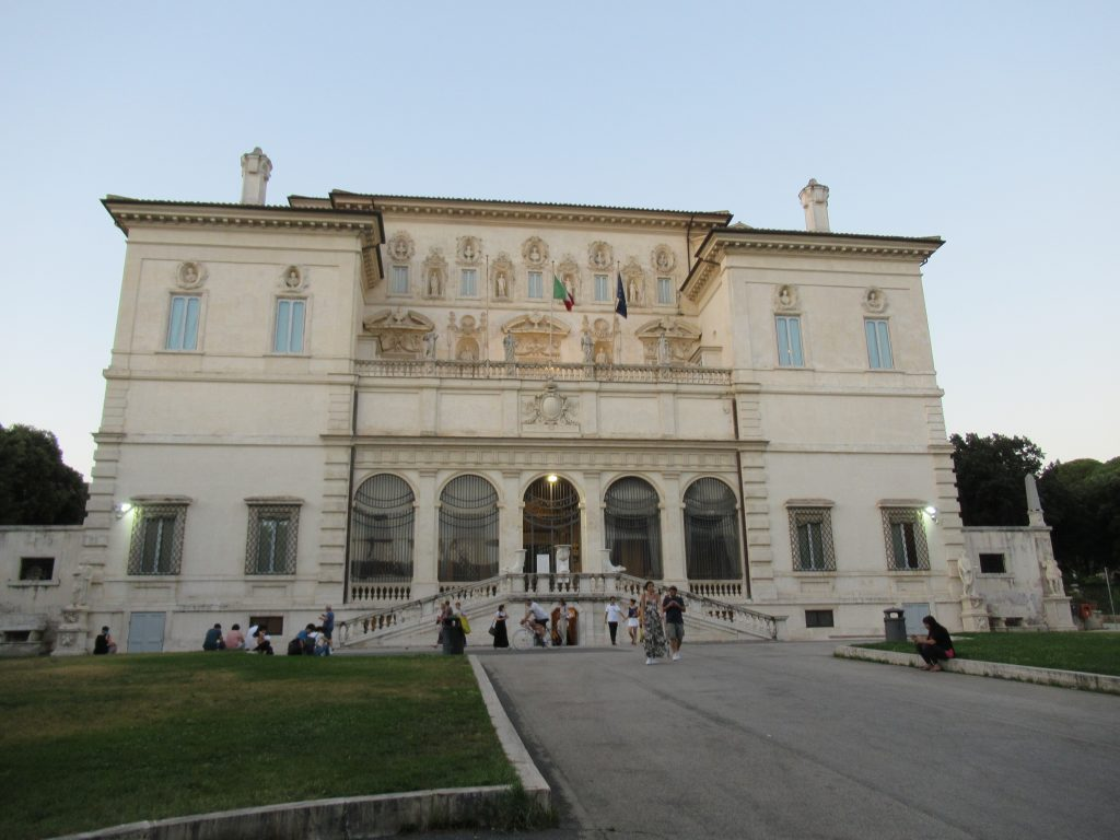 Galleria Borghese is one of the best private art collections in Rome and one of the best things to do in an evening.