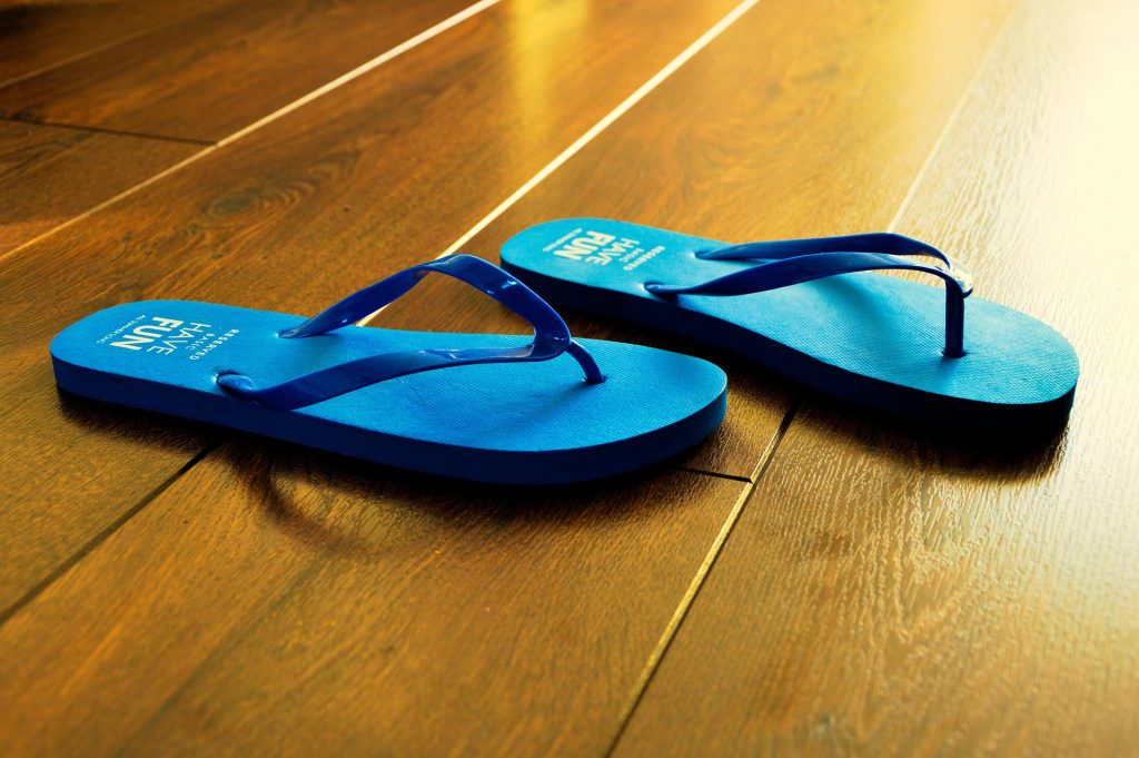Plastic bands and foam soles with little arch support will make for a painful day at Walt Disney World. This post offers some better choices of shoes for walking at Walt Disney World.