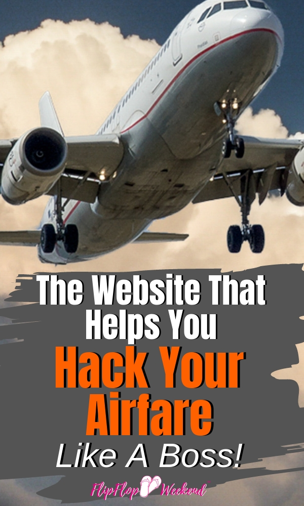 This website will help you quickly and easily find cheap plane tickets by helping you discover the least expensive routes and disconnected flights. Read my full review. #FlipFlopWeekend