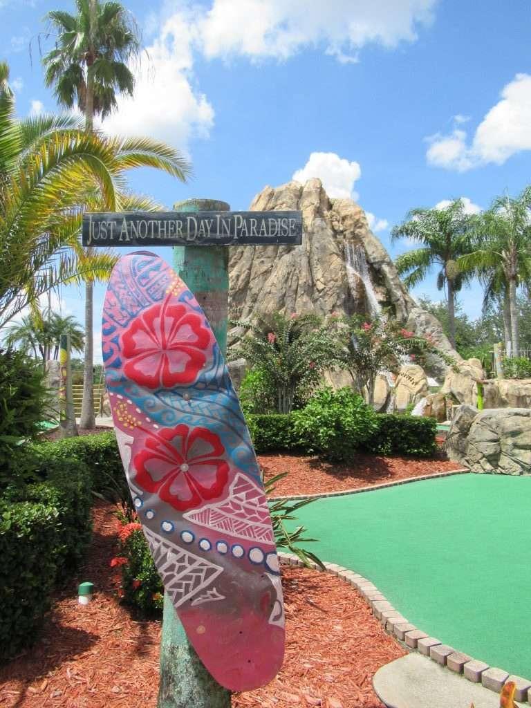 Hawaiian Rumble Adventure Golf in Orlando