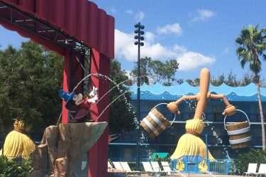 The Fantasia Pool at Walt Disney World's All-Star Movies Resort