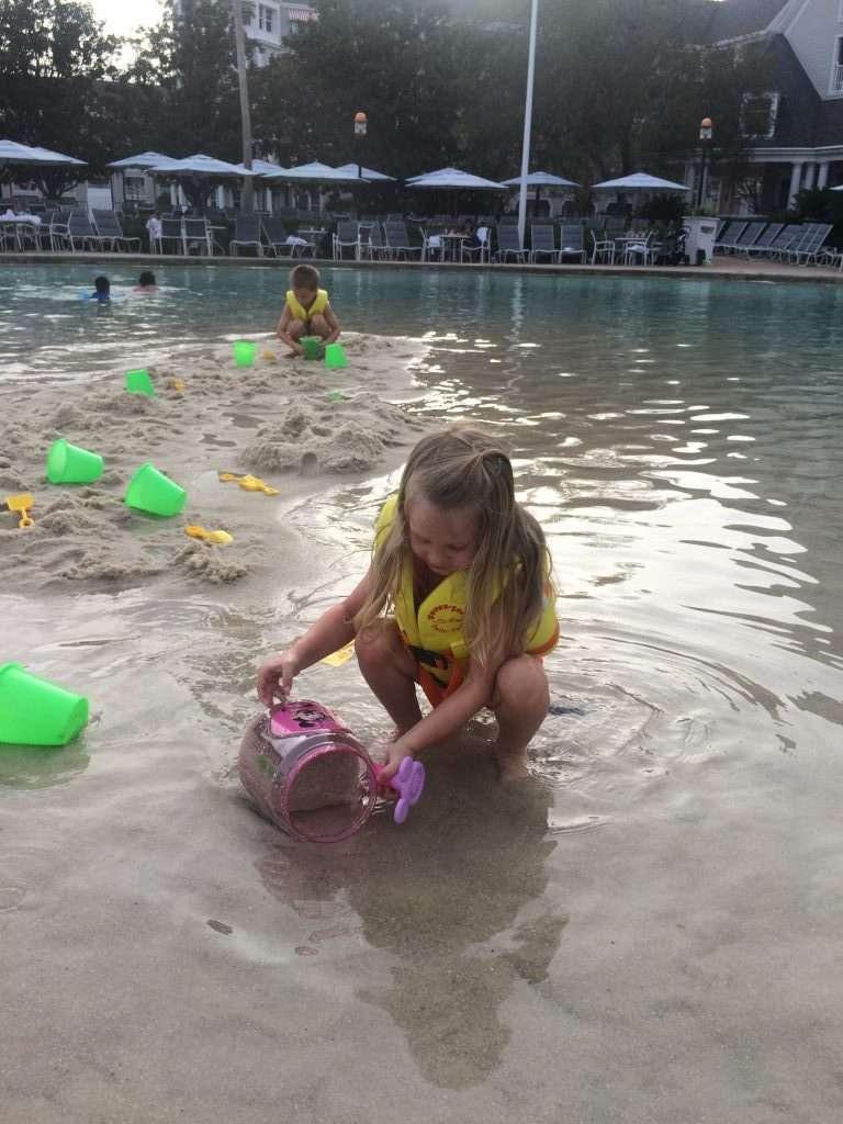 Walt Disney World's Beach Club Pool