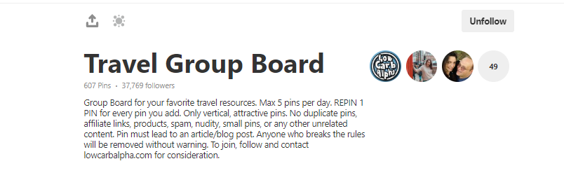 Finding group boards is one of the easiest ways to grow your blog traffic.