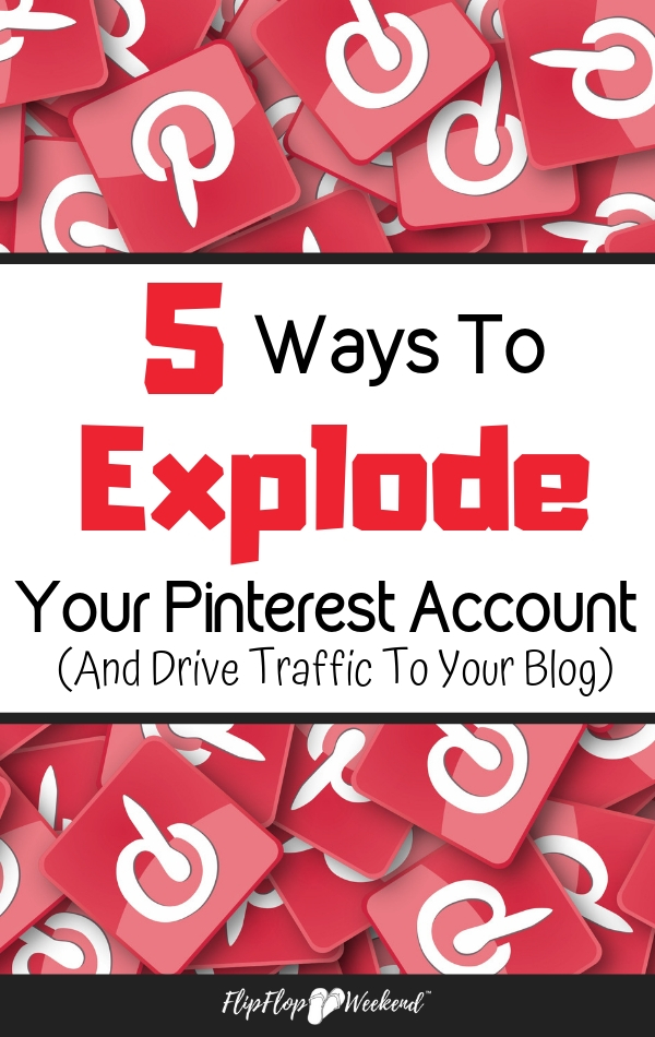 Learning how to use Pinterest is critical to grow your business or drive traffic to your blog. This post shows you 5 ways to grow your Pinterest account.
