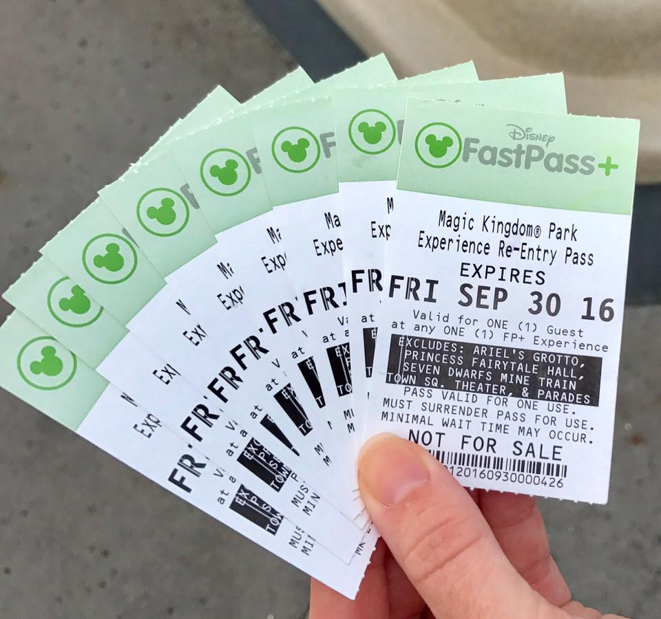 The Walt Disney World FastPass system has evolved over time. Guests used to have to keep track of paper tickets, but now the entire FastPass+ system is digitized utilizing an RFID system.