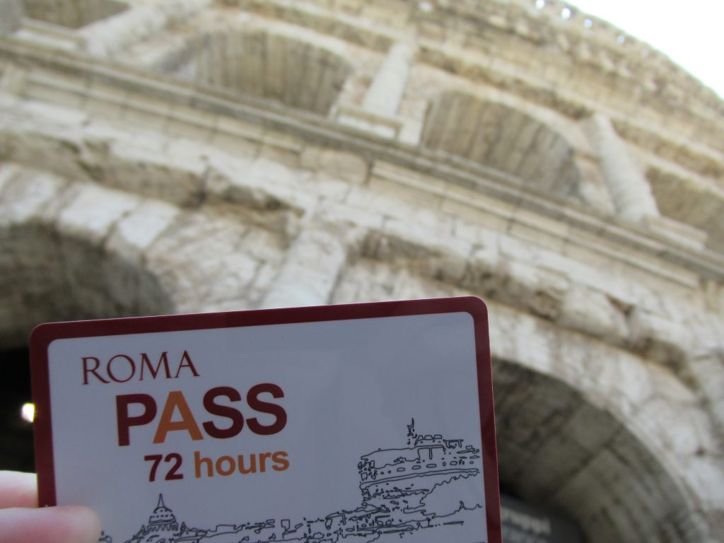 The Roma Pass is a Rome city card that offers a limited number of free admission to a selection of museums, public transportation, and additional discounts.