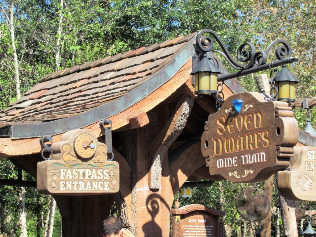 The Seven Dwarves Mine Train is an important FastPass to snag if you want to ride the coaster.