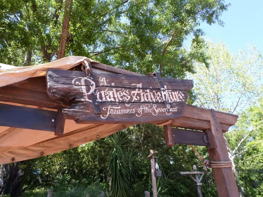 Similar to Sorcerer's Of The Magic Kingdom, the Pirate's League Adventure is a FREE scavenger hunt experience through Adventureland at Walt Disney World's Magic Kingdom.