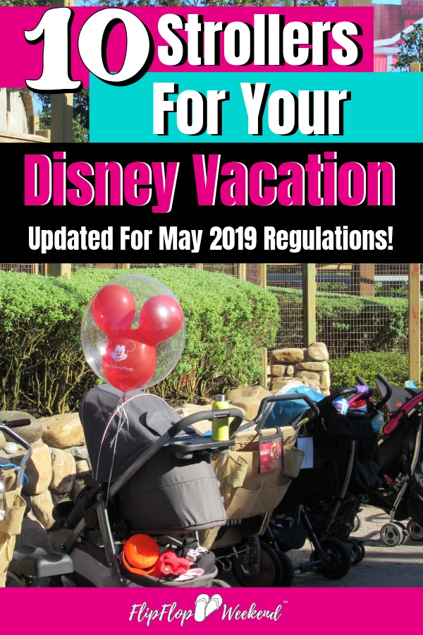Trying to decide on which stroller you should have at Walt Disney World? This post features recommendations from fellow Disney moms and is updated with the new Disney stroller policy, effective on May 1, 2019.