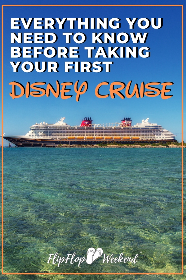 If you are planning your first Disney Cruise, check out this post from a seasoned Disney Cruise guest with tips and secrets on what to expect and how to make the most of your time on the ship. #FlipFlopWeekend #DisneyCruise