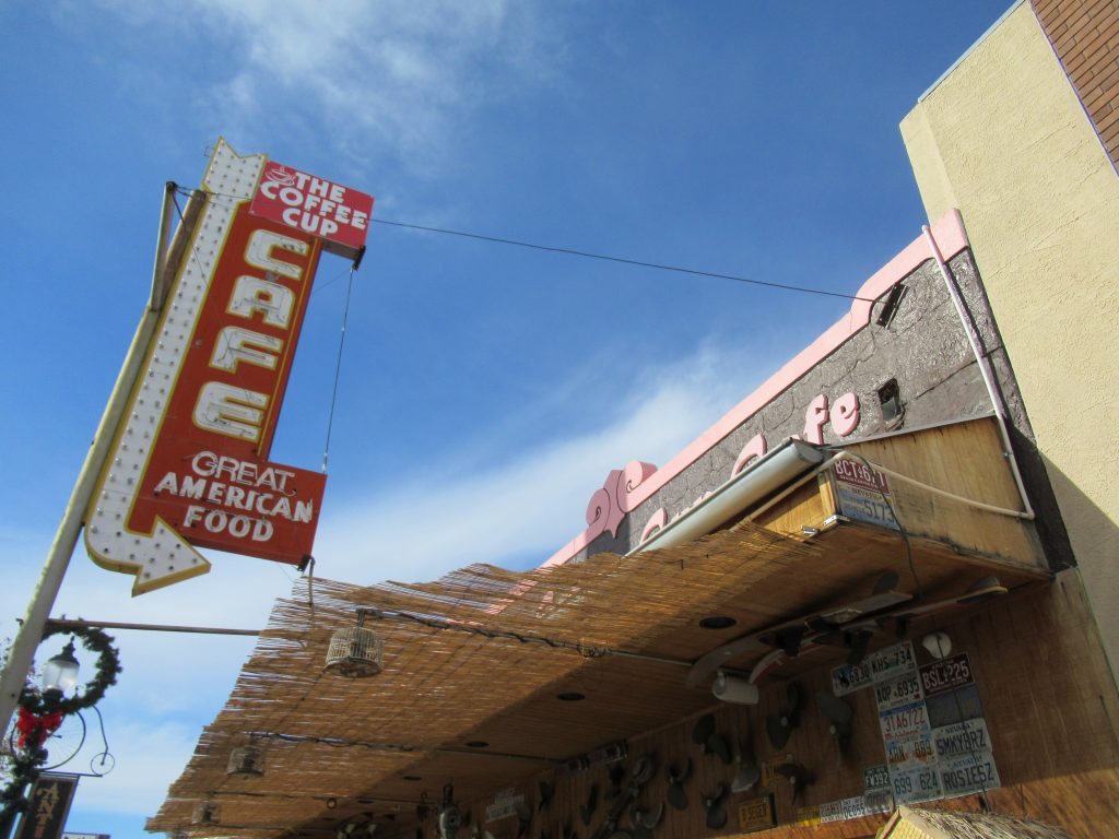 To fill up on some amazing home-cooked food, I highly recommend grabbing breakfast at The Coffee Cup Cafe in Boulder City, NV before heading over towards Hoover Dam and the Valley of Fire.