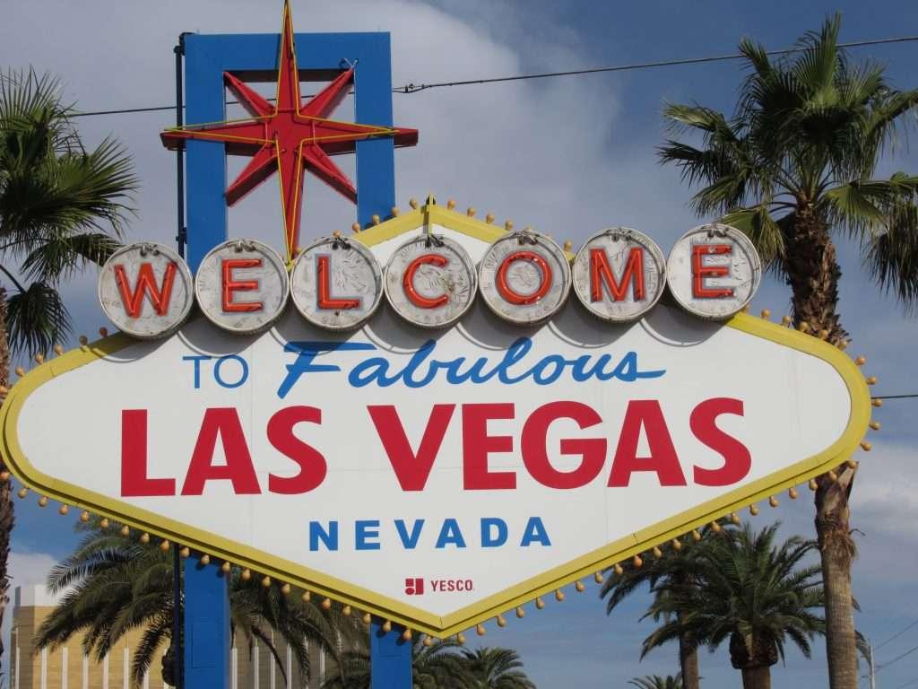 Las Vegas Welcome Sign in Las Vegas, Nevada