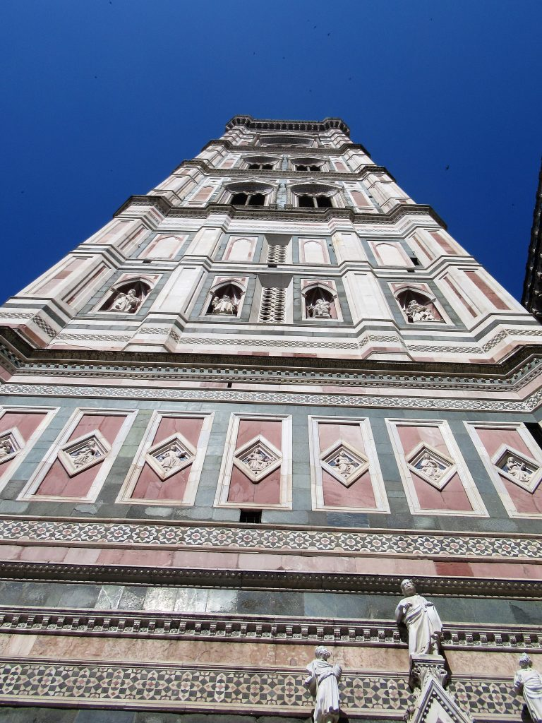 Completed in 1359, the official name isGiotto's Campanile, named after the original architect who designed it.