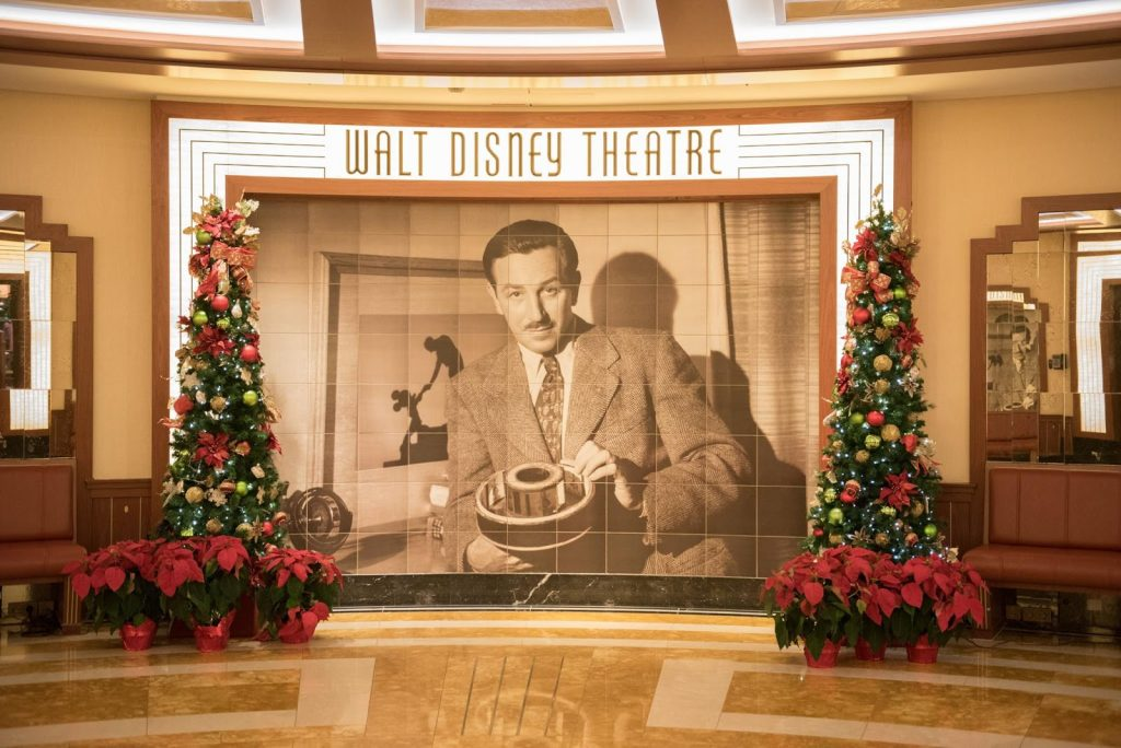 The Walt Disney Theatre is THE spot to catch the best Broadway-style shows at sea. You don't want to miss it! PC: Krystal Healy Photography
