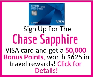Chase Sapphire Visa Card